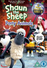 Shaun the Sheep - Party Animals (Import DVD)