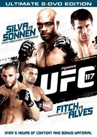 UFC 117 - Silva vs Sonnen - (Import DVD)