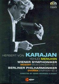 Mozart/Dvorak:Violin Cto No 5 Sym No - (Region 1 Import DVD)