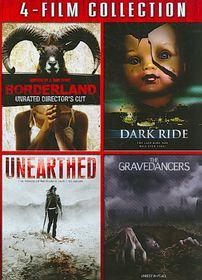 Borderland/Dark Ride/Unearthed/Graved - (Region 1 Import DVD)