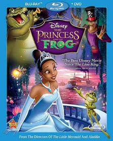 Princess and the Frog - (Region A Import Blu-ray Disc)