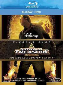 National Treasure - (Region A Import Blu-ray Disc)