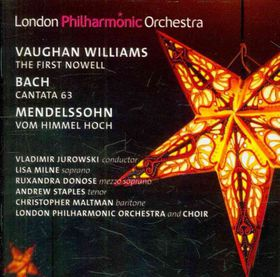 Vaughan Williams / Bach / London Philharmonic Orch - First Nowell / Cantata 63 / Vom Himmel Hoch (CD)