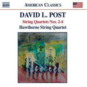 Post: String Quartets Nos 2-4 - String Quartets Nos.2-4 (CD)