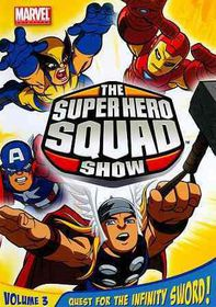 Super Hero Squad Show:Quest for T V 3 - (Region 1 Import DVD)