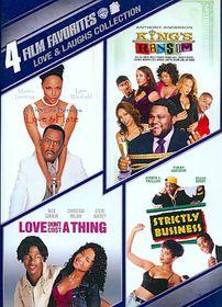 4 Film Favorites:Love & Laughs - (Region 1 Import DVD)