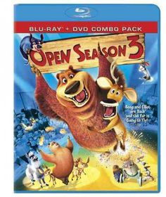 Open Season 3 (Bd/DVD Combo) - (Region A Import Blu-ray Disc)