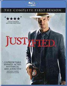 Justified Season One - (Region A Import Blu-ray Disc)