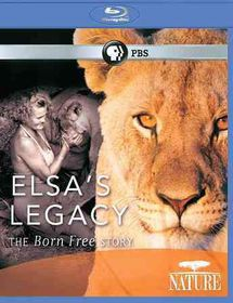 Nature:Elsa?S Legacy Born Free Story - (Region A Import Blu-ray Disc)