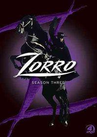 Zorro:Complete Season 3 - (Region 1 Import DVD)