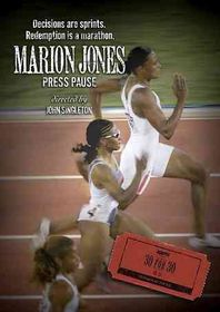 Marion Jones:Press Pause - (Region 1 Import DVD)