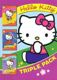 Hello Kitty Triple Pack - (Region 1 Import DVD)