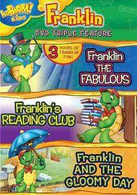 Franklin Triple Feature - (Region 1 Import DVD)