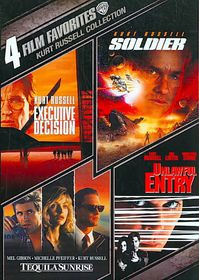 4 Film Favorites:Kurt Russell - (Region 1 Import DVD)