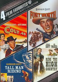 4 Film Favorites:Randolph Scott Weste - (Region 1 Import DVD)