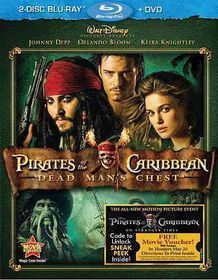 Pirates of the Caribbean:Dead Man's C - (Region A Import Blu-ray Disc)
