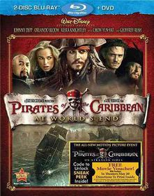 Pirates of the Caribbean:at World's E - (Region A Import Blu-ray Disc)