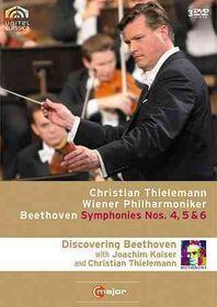 Beethoven:Symphonies Nos 4 5 & 6 - (Region 1 Import DVD)