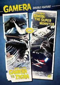 Gamera Vs Zigra/Gamera:Super Monster - (Region 1 Import DVD)