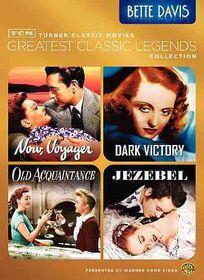 Tcm Greatest Classic Films:Bette Davi - (Region 1 Import DVD)