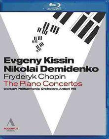 Chopin:Piano Concertos Warsaw 2010 - (Region A Import Blu-ray Disc)
