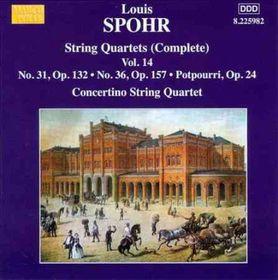 Spohr / Moscow Philharmonic Concertino Quartet - String Quartets - Vol.14 (CD)