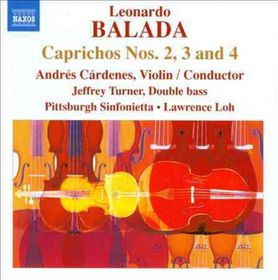 Balada / Cardenes / Pittsburgh Sinfonietta / Loh - Caprichos Nos.2, 3 & 4 (CD)