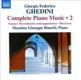 Ghedini / Bianchi - Complete Piano Music 2 (CD)