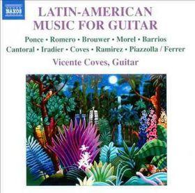 Coves / Morente / Ferrer / Ocana - Latin American Music For Guitar (CD)