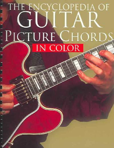 The Encyclopedia Of Guitar Picture Chords In Color | Buy Online in ...