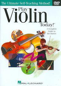 Play Violin Today - (Region 1 Import DVD)