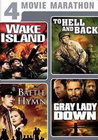 4 Movie Marathon:Classic War Collecti - (Region 1 Import DVD)