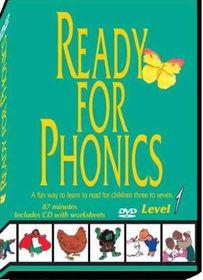 Ready for Phonics Level 1 - (Region 1 Import DVD)