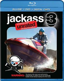 Jackass 3 3d - (Region A Import Blu-ray Disc)
