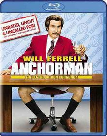 Anchorman:Legend of Ron Burgundy - (Region A Import Blu-ray Disc)