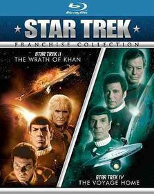 Star Trek II:Wrath of Khan/Star Trek - (Region A Import Blu-ray Disc)