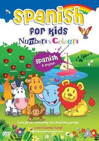 Spanish for Kids: Numbers and Colours - (Import DVD)