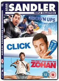 Click/Grown Ups/You Don't Mess With the Zohan (Parallel Import - DVD)