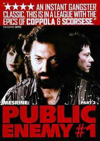 Mesrine:Public Enemy No 1 (Part 2) - (Region 1 Import DVD)
