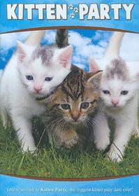 Animal Atlas:Kitten Party - (Region 1 Import DVD)