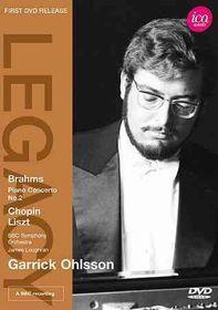 Garrick Ohlsson Plays Brahms Chopin L - (Region 1 Import DVD)