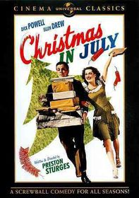 Christmas in July - (Region 1 Import DVD)
