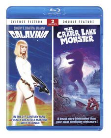 Galaxina/Crater Lake Monster:Double - (Region A Import Blu-ray Disc)