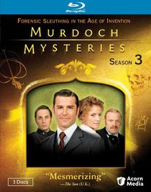 Murdoch Mysteries Season 3 - (Region A Import Blu-ray Disc)