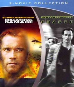 Eraser/Collateral Damage - (Region A Import Blu-ray Disc)