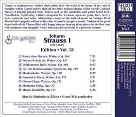 Strauss: Edition 18 - Strauss - Edition 18 (CD)