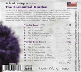 Danielpour / Wang, Xiayin - Enchanted Garden: Preludes Books I & II (CD)