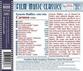 Halffter / Frs / Fitz-gerald - Carmen (Music For The 1926 Silent Film) (CD)