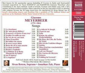 Meyerbeer: Songs - Songs (CD)