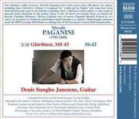 Paganini / Janssens - Ghiribizzi (CD)
